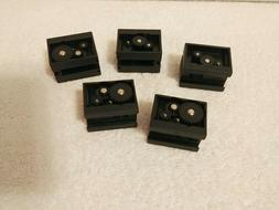 Fischertechnik      MOTOR RACK GEARBOX  LOT of 5    BLACK  3