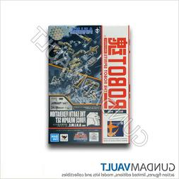 NEW Robot Spirits The Earth Federation Force Weapon Set Band