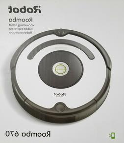NEW- iRobot Roomba 670 Robot Vacuum Cleaner Wi-Fi Connectivi