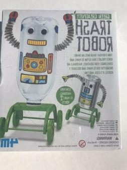 New Sealed - 4M Green Creativity Trash Robot - Creative Robo