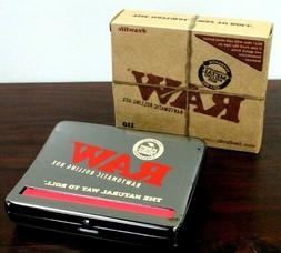 Raw Natural Rolling Papers Automatic Rolling Box 110mm King