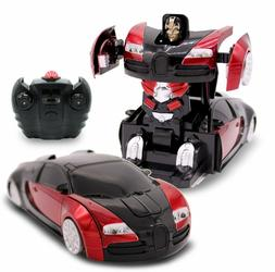 RC Toy Transforming Autobot Remote Control Wall Climber Car