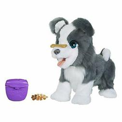 *Ricky dog ??stuffed toy electric robot E0384 genuine fur re