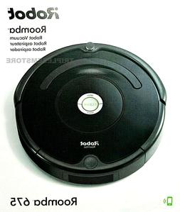 iRobot Roomba 675 Wi-Fi Connected Robotic Vacuum Cleaner W/A