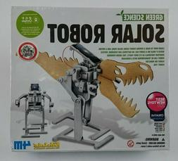 Solar Robot Toy Green Science NIB Kidz Labs Educational 4M H