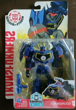 TRANSFORMERS 2015 Robots in Disguise - SOUNDWAVE Combiner Fo