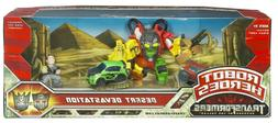 "TRANSFORMERS ""REVENGE OF THE FALLEN"" ROBOT HEROES - DESERT D"