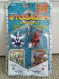 Vtg Medabots Hasbro Cards Robot Figures New Rare Sealed